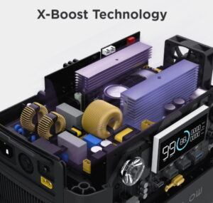 River 600 Max X-boost technology