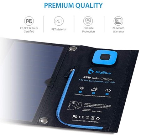 BigBlue 28w Charger Durable