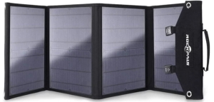 Tent-Large Rockpals 100w Foldable Solar Panel