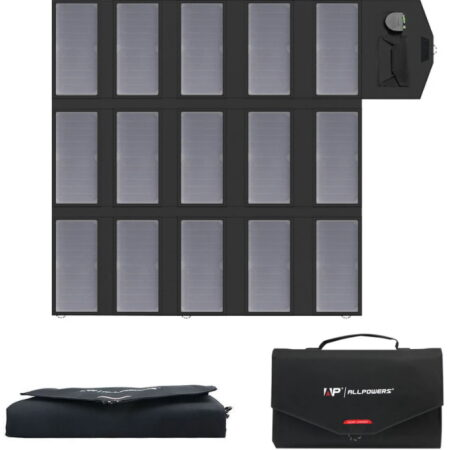 ALLPOWERS Solar Charger 100w Review - Featured Image