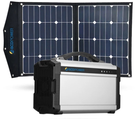 AcoPower Solar Generator 220Wh Review - Featured Image