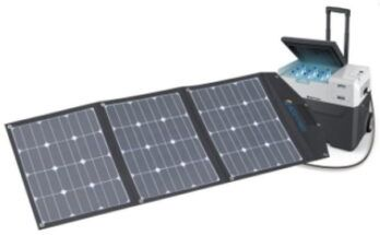 Can A Solar Panel Run A Camping Fridge - Featured Image