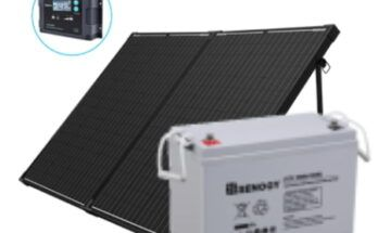 How many batteries can a 200 watt solar panel charge - Featured Image