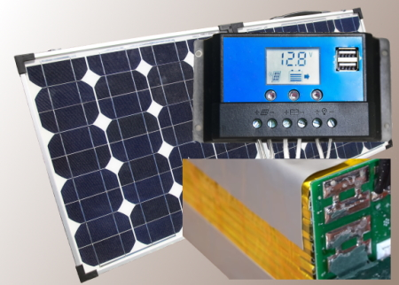 What Size Solar Panel and Controller Is Needed For Lithium Ion Batteries -Featured Image