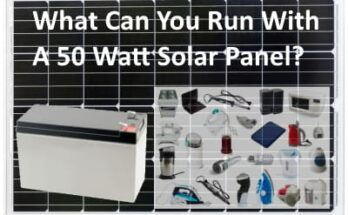 What Can You Run With a 50 Watt Solar Panel? - Featured Image